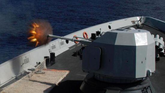 中国海军在夏威夷射击