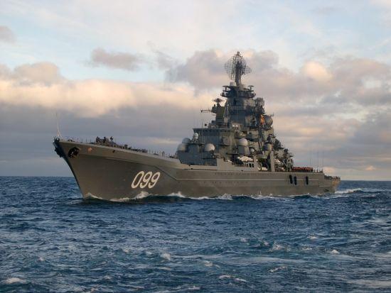 俄将重新服役核巡洋舰