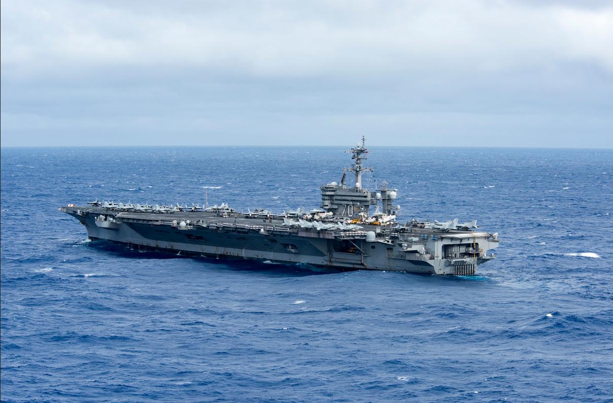 美国航母第16次进入南海