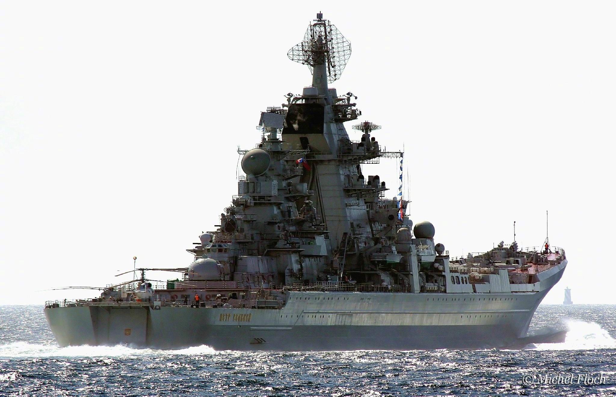 俄海上怪兽基洛夫巡洋舰