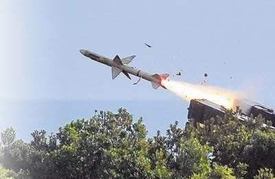 台湾展出天剑二反舰导弹