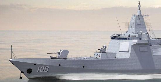 中国055舰巡南海想象图