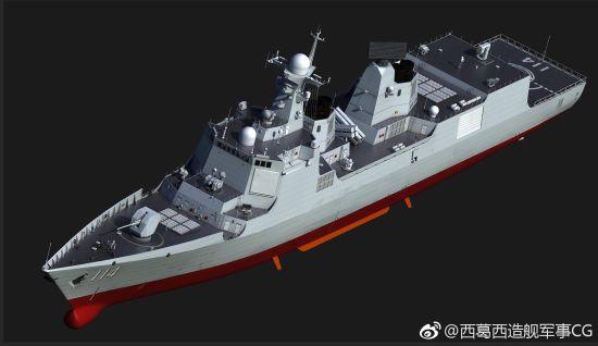 中国是否建052E驱逐舰?