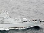 中国海军穿越对马海峡