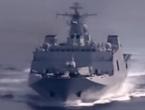 我海军登陆舰队奔赴南海