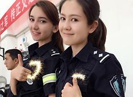 反恐一线的新疆女特警