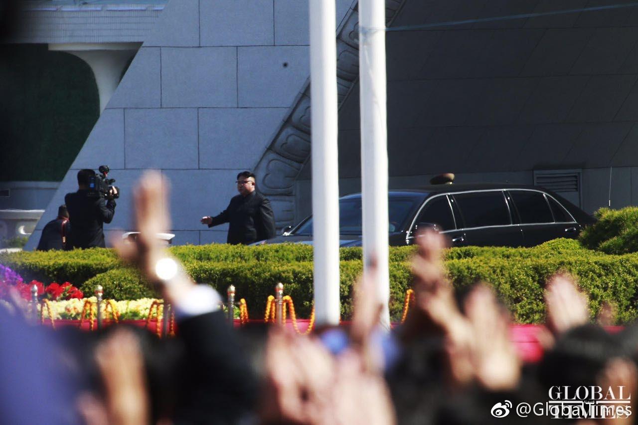 金正恩在国际媒体露面