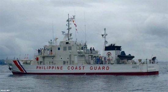 菲律宾购日海警船试航