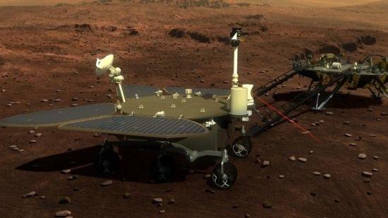 我首个火星探测车设计图