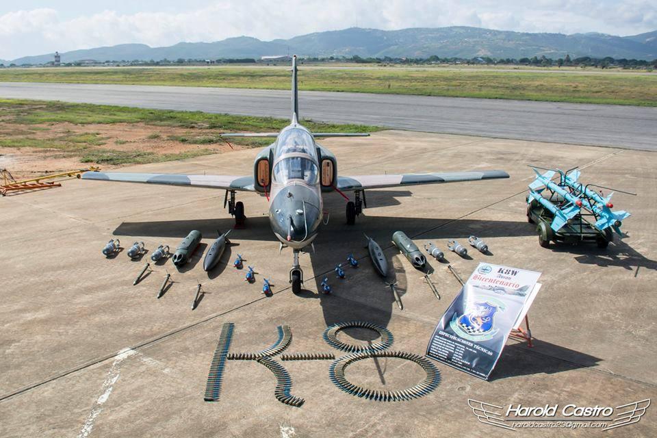 委空军接收最新K8教练机