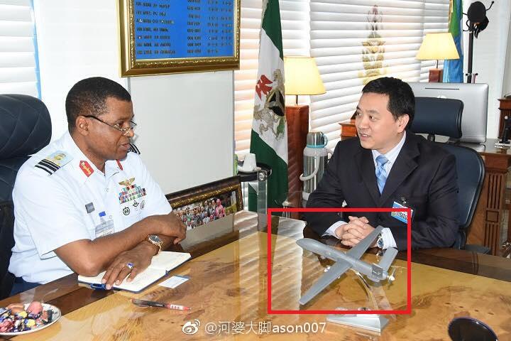 尼日利亚司令会见中国代表