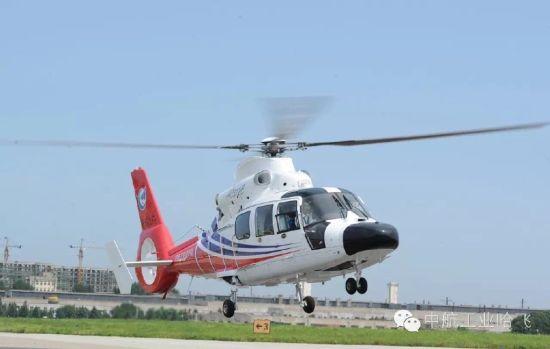 中国AC312E直升机首飞