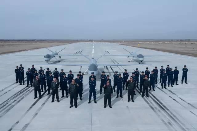 中国列装攻击1无人机