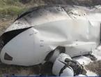 巴铁无人机坠毁疑似翼龙