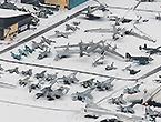 航拍莫尼诺空军博物馆