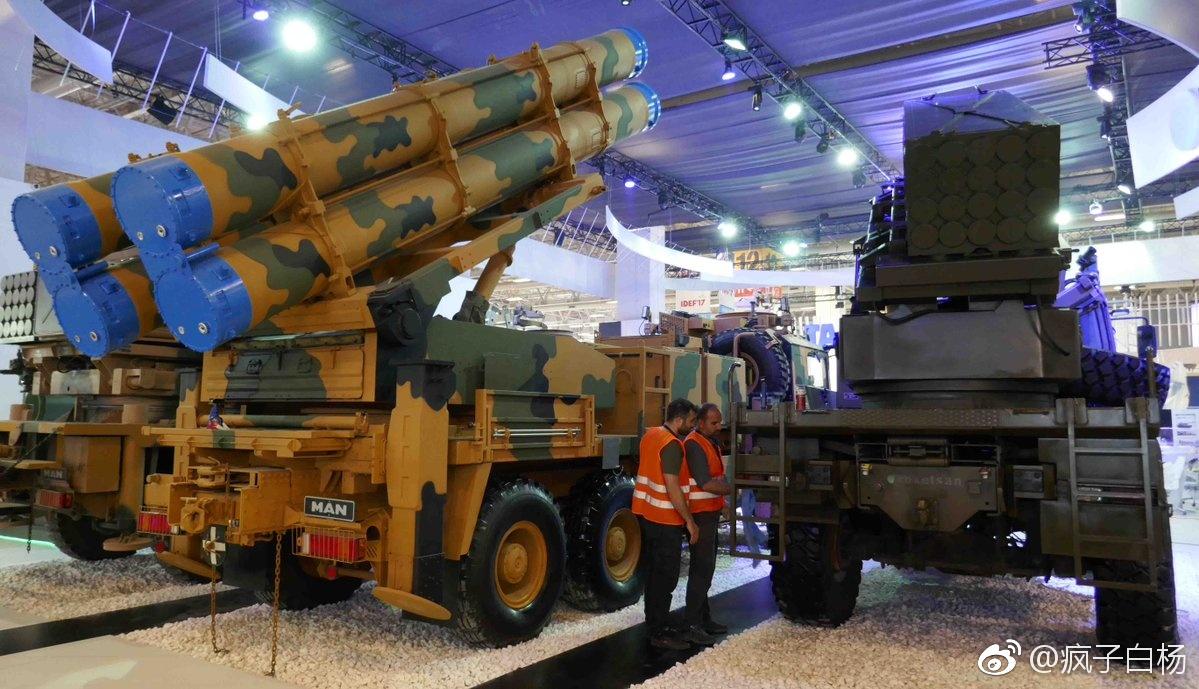 土耳其山寨中国火箭炮