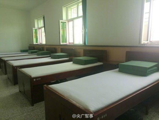 中国军营内整齐超乎想象
