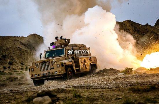 中国吉尔吉斯坦反恐演习