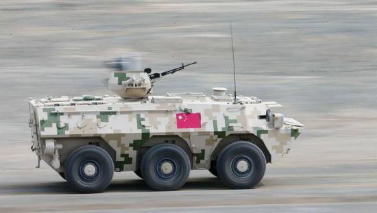 中国防空兵优势领跑比赛