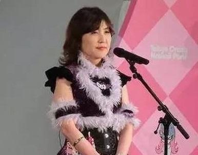 日本女防卫相穿着奇葩