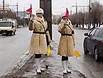 女警穿二战制服执勤