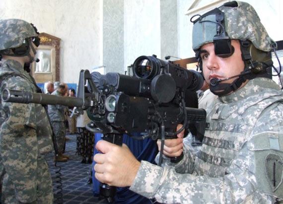 美国陆军展示改进型未来士兵系统装备(组图)