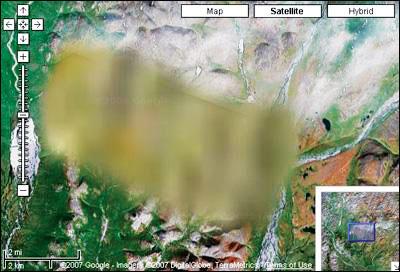 解放军及外军严防谷歌地球卫星监测(组图)