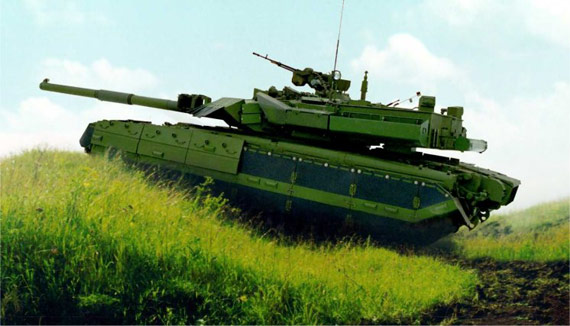 武器纵横:乌克兰推出新型雅塔甘主战坦克(图)