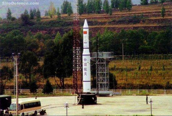 图文:西方称中国用新固体燃料火箭进行反卫星试验
