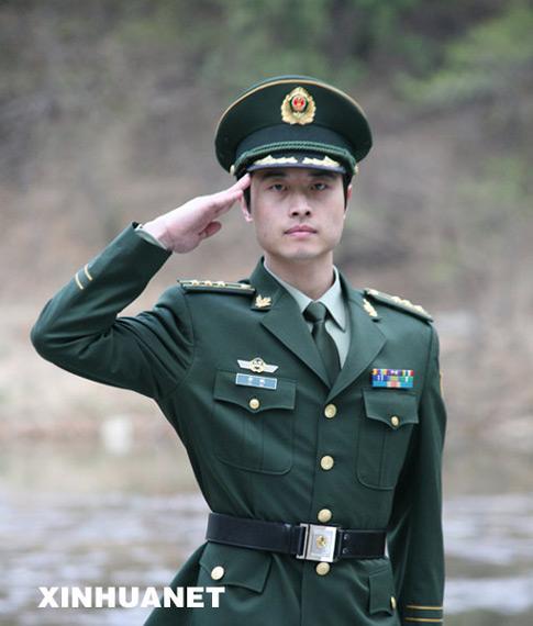 中国人民解放军07式军服着装规定图片
