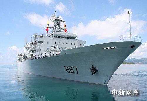 中国海军新型舰艇编队赴欧洲参加联合军演(图)
