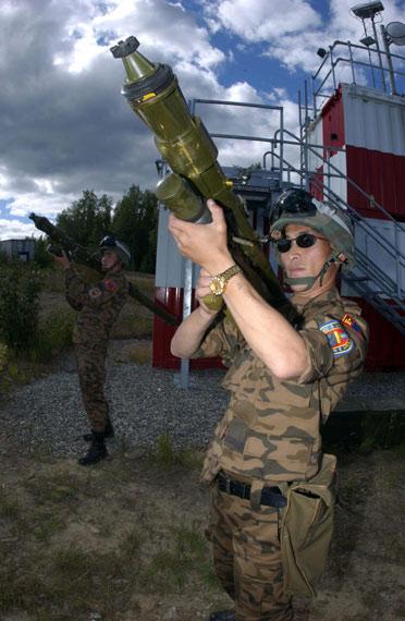 蒙古首次派遣部队参加美国红旗空地联合军演