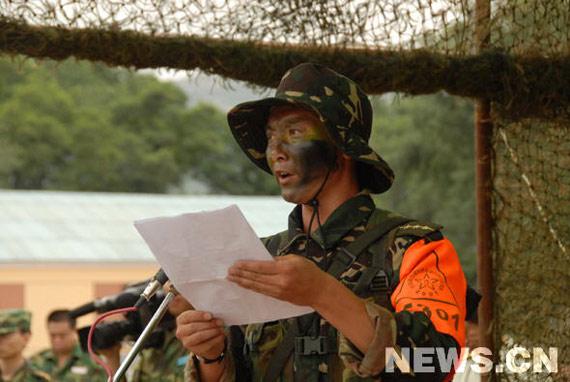 沈阳军区比武纪实:中国特种兵挑战生命极限