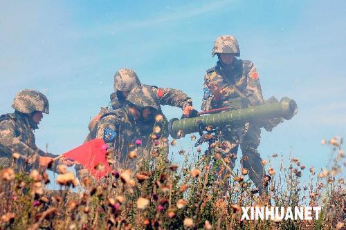 上合各国特种兵习惯:中国军人枪口始终指前方