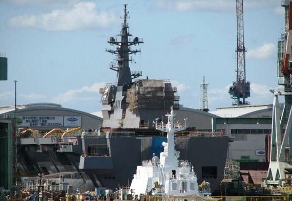 日本16DDH准航母下水将成反潜直升机海上据点