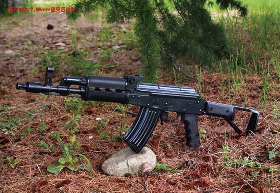 图文:中国56C短突击步枪全枪特写