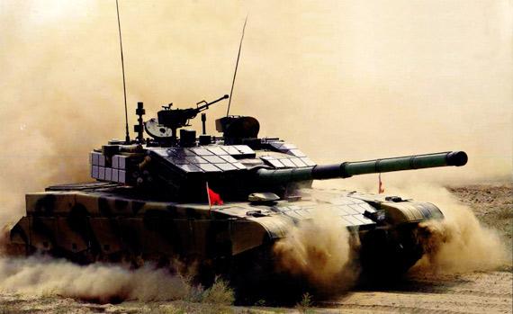 美国媒体称解放军加紧试制99A2型主战坦克(图)