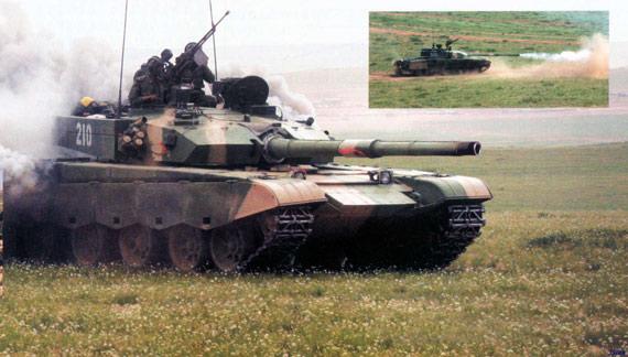 图文:99A2坦克一旦装备解放军99坦克就有可能外销
