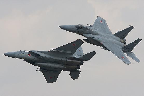 图文:日本航空自卫队F-15J战斗机