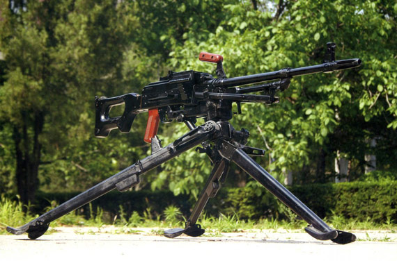 中国80式7.62毫米通用机枪至今仍大量出口(图)