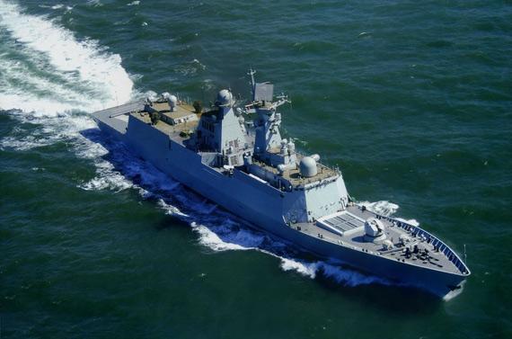 台军方称解放军已具备突破第一岛链作战能力