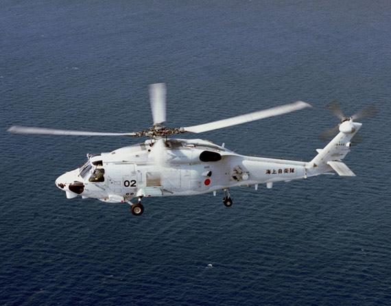 图文:日本海军航空部08年将购两架SH-60K直升机