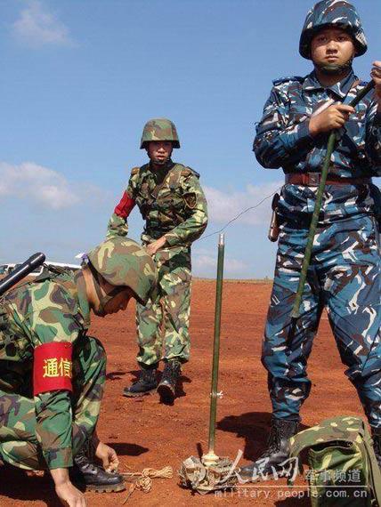 我军培养引导兵战斗精神提高战时指示目标能力