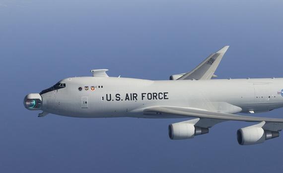 图文:美国空军在研ABL机载激光武器