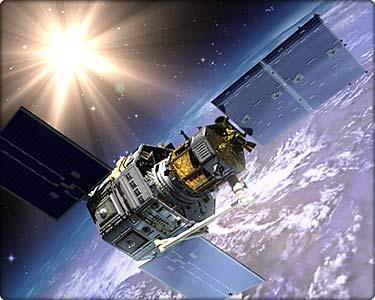 图文:美国可掳获敌国卫星的轨道快车