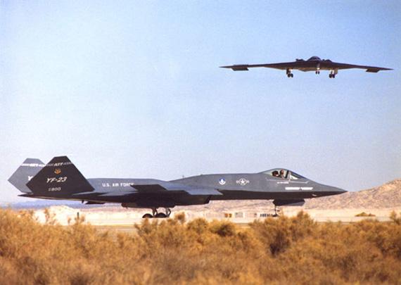 日本正在研制远程战斗轰炸机以美YF-23为蓝本
