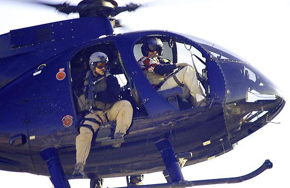 图文:黑水保安公司作战直升机