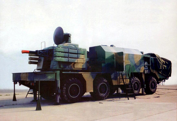 图文:国产新型弹炮合一近程防空速射系统
