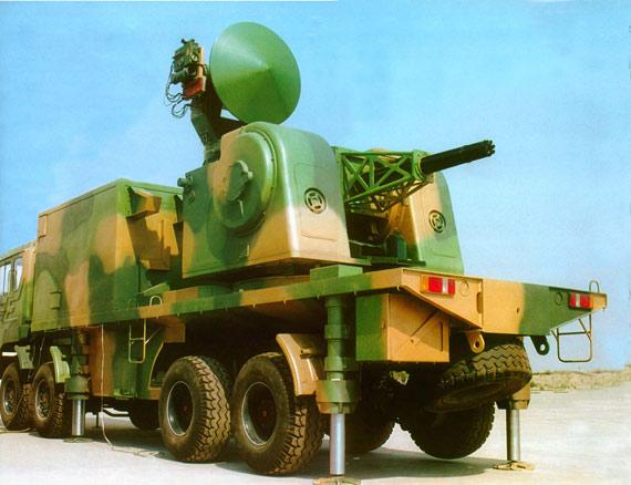 图文:中国陆盾2000型轮式近程对空防御系统