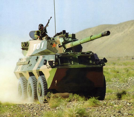 简氏防务报道中国及世界轮式战车发展(组图)